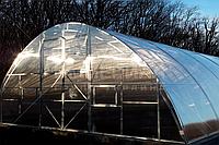 Арочная теплица фермерская (Алюминиевый Каркас) Размер: 7.6 х 8.3 х 3.8 м