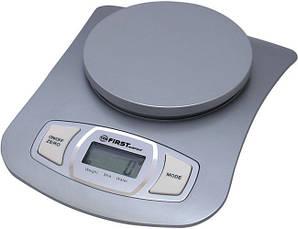 Кухонные бытовые электронные весы 5кг First FA-6401