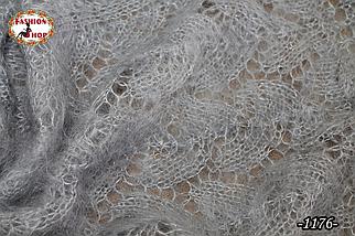 Оренбургский пуховый палантин Сабина, фото 3