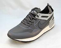 Кроссовки мужские  Nike текстиль серые (р.41,42,43,44,45)