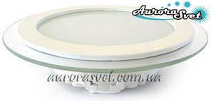 Точковий світлодіодний світильник AR2-18W Glass 4000/3000 K (Скло). LED точковий світильник.