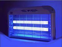 Ловушка для летающих насекомых Kill Pest 20Вт, от мух, от комаров, от мошек, от моли