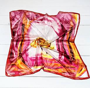 Платок Орхидея, 65*65 см