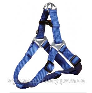 Шлейка XS-S усиленная для собак, 30 - 40 см, синий