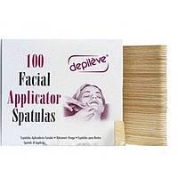 Одноразовый шпатель для лица, упак. 100 шт - DEPILEVE FACIAL SPATULAS