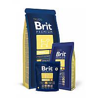 Корм для щенков средних пород Brit Premium Junior M, 1 кг