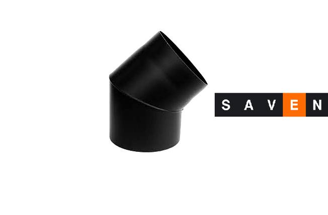 Колено для дымохода 45° (2мм) Ø150, фото 2