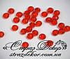 Хрустальные бусины рондели 6*4мм Siam (красные)