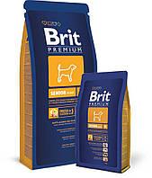 Корм для пожилых собак средних пород Brit Premium Senior M, 3 кг