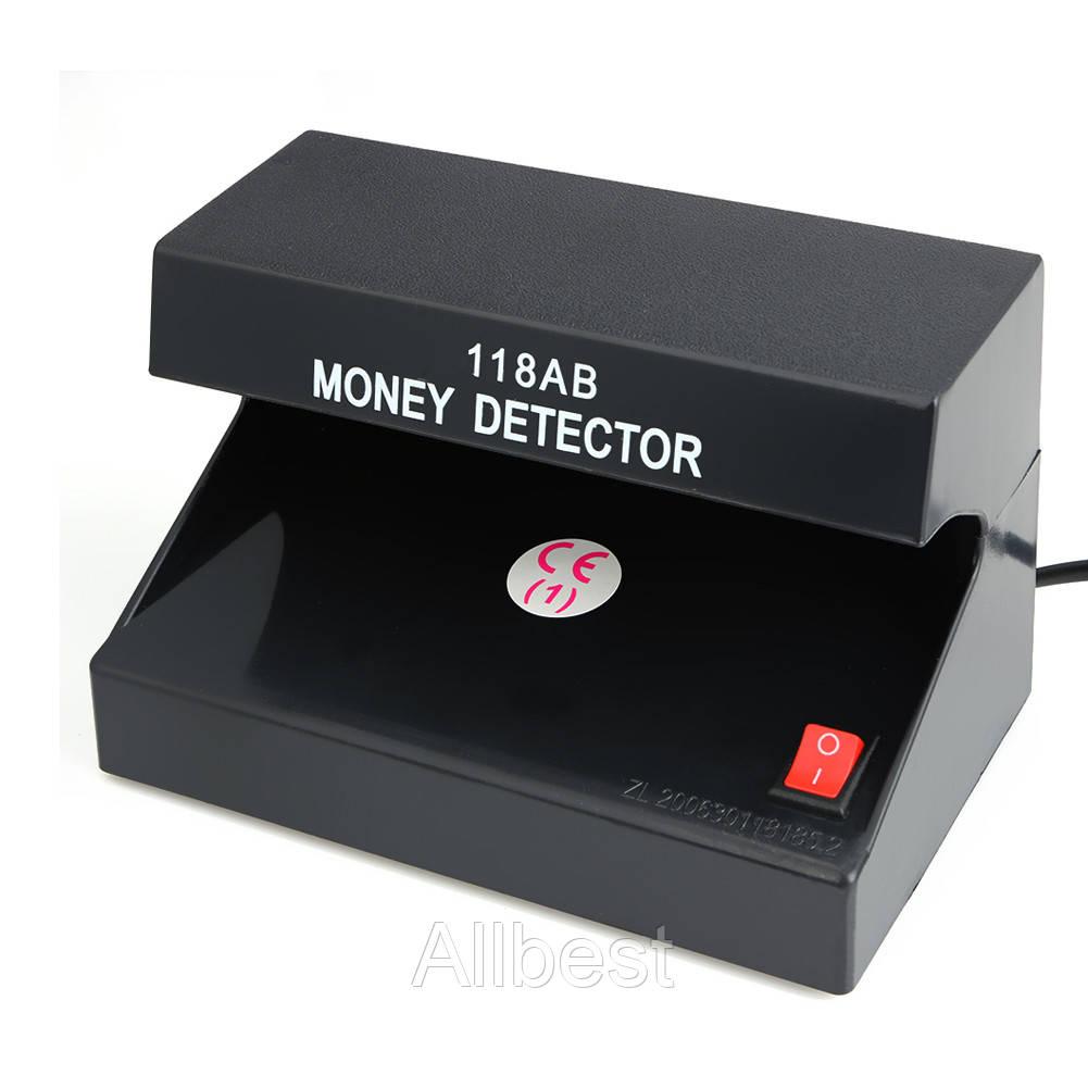 Проводной детектор валют AD - 118AB ( ультрафиолетовый детектор купюр)
