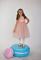Нарядное пышное платье для девочки  2107\24