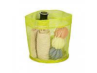 Корзина для хранения мелочей в ванной комнате L, 21*22,5 см, ТМ МД