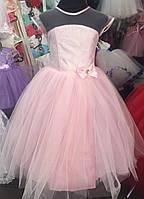Нарядное платье для девочки  2107\27
