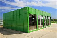 Строительство МАФ: офисы продаж ,павильоны,мансарды,пристройки,ларьки