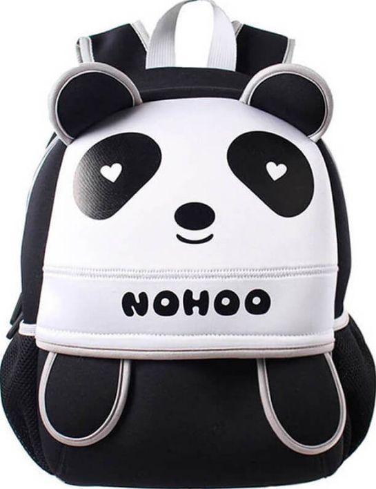 Детский рюкзак Панда Nohoo NH013-2, черный 10 л