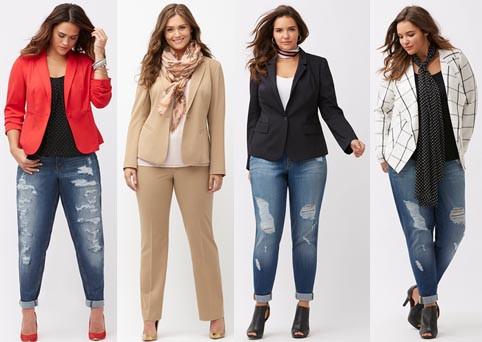 Модная одежда больших размеров: что надеть осенью 2017 года