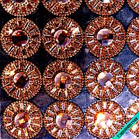 Дизайны из страз на силиконе, декор для одежды Орнамент (60 полос на листе)