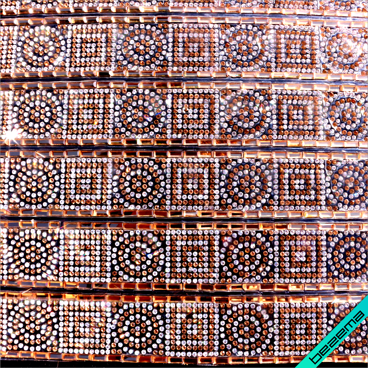 Дизайни з страз на силіконі, декор для одягу Орнамент