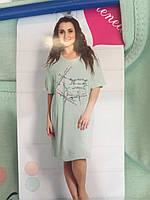 Ночная женская рубашка большого размера