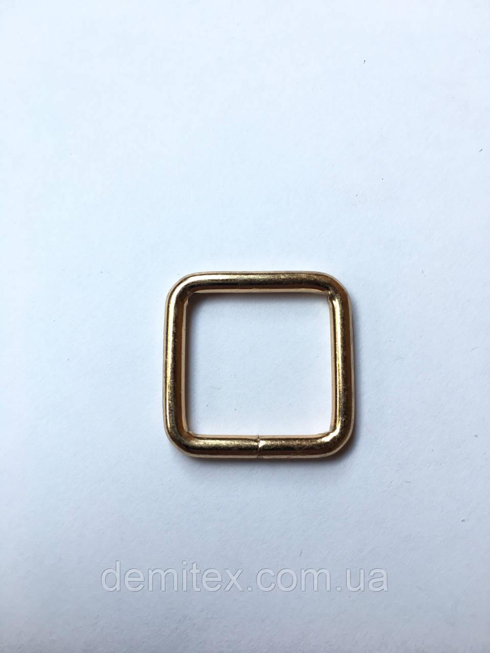 Рамка золото 20х20х3мм