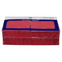 H-Line Servietten Bordeaux -  салфетки цвет бордо, Размеры (Д х В): 33 х 33 см, 3-слойные  250 шт.