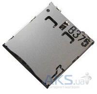 (Коннектор) Aksline Разъем SIM-карты Alcatel 6010D / 6030 / 6033