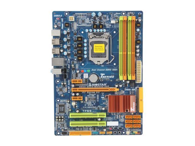 Материнская плата BIOSTAR TP55 LGA 1156 бу
