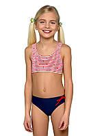 Детский купальник для девочки раздельный model 43 104