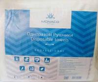 Одноразовые полотенца Monaco Style Disposable Towels гладкие 40*70 см, 100 шт