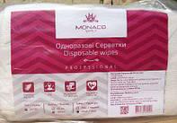 Одноразовые салфетки Monaco Style Disposable Wipes сетка 20*20 см, 50 шт
