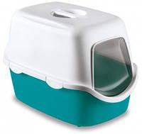 Stefanplast Туалет с фильтром Cathy Easy Clean, 56*40*40 см, бордовый