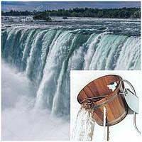 Что общего между Ниагарским и ведро-водопадом?