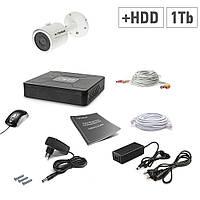 Комплект видеонаблюдения Tecsar 1OUT+1ТБ HDD