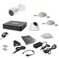 Комплект видеонаблюдения Tecsar 2OUT-MIX