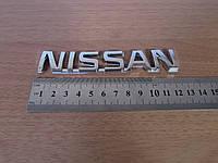 """Надпись """"Nissan"""" (120х22)"""