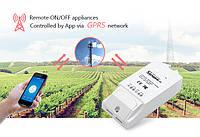 Умный выключатель Sonoff G1: GPRS/GSM