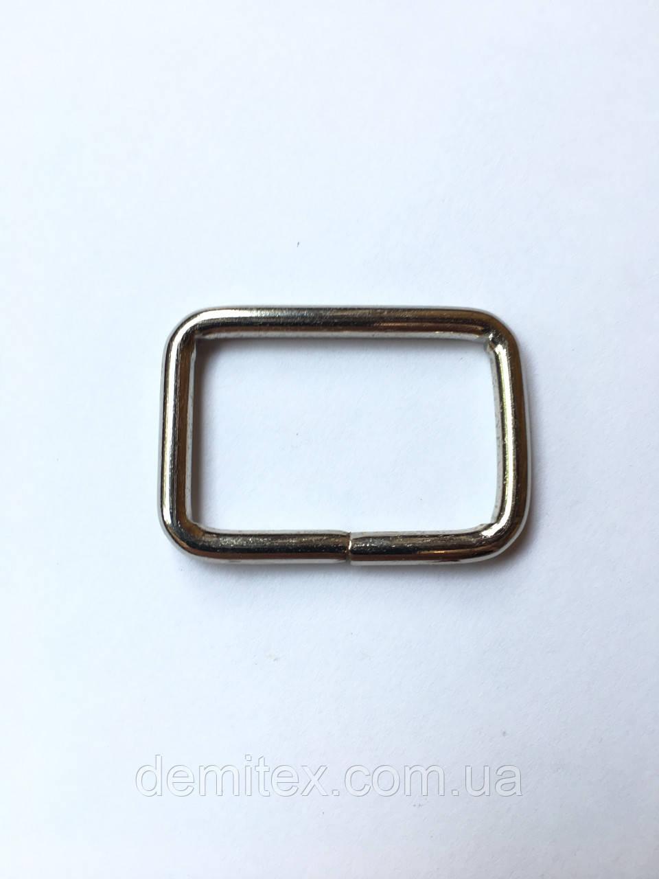 Рамка никель 30х20х4мм