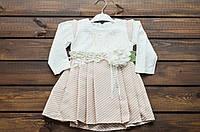 Платье для девочки на 1-4 лет