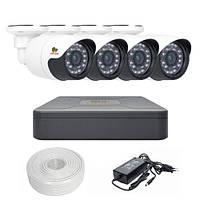 Комплект видеонаблюдения Partizan AHD 4x1MP OUT OmniVision