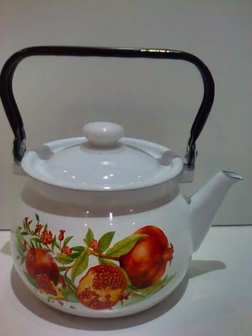 Чайник эмалированный 2л 27101/2, фото 2