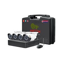 Комплект видеонаблюдения Partizan AHD 4x1MP OUT
