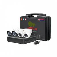 Комплект видеонаблюдения Partizan AHD 4x1MP MIX