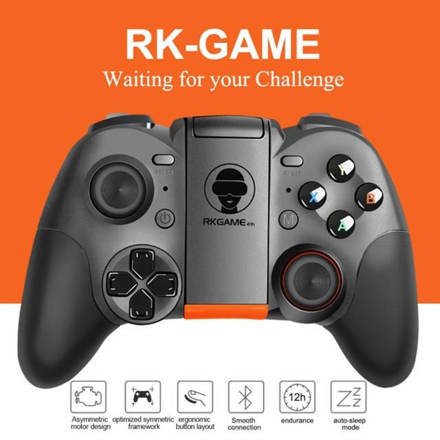Безпроводной Джойстик для телефона RK GAME Bluetooth  , фото 5
