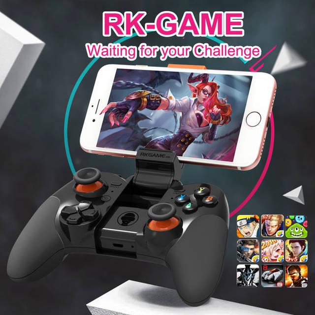 Безпроводной Джойстик для телефона RK GAME Bluetooth  , фото 8
