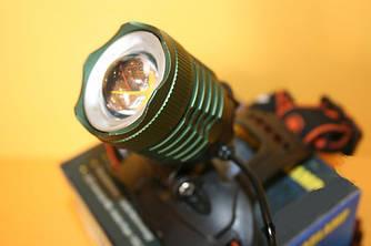 Фонарь налобный аккумуляторный Police 2190 T6