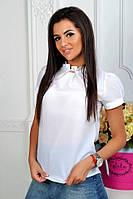 Блузка женская №067 белая