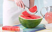 Нож щипцы для чистки и резки арбуза и дыни дольками ANGURELLO