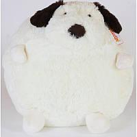 Мягкая игрушка Собачка круглая, 38 см