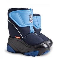 Зимові чобітки (зимние дутики) Demar Doggy синій
