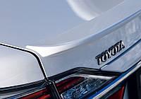 Лип спойлер багажника Toyota Camry v50-55